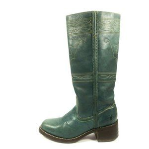 Frye Campus Stitching Horse Leather Riding Boots